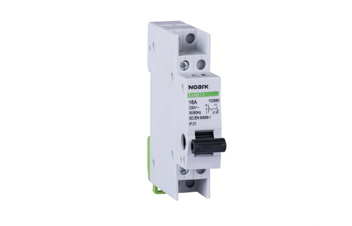 NOARK Ex9BT3 1CO 16A, 3-POSITION CHANGE-OVER SWITCH (I-0-II)